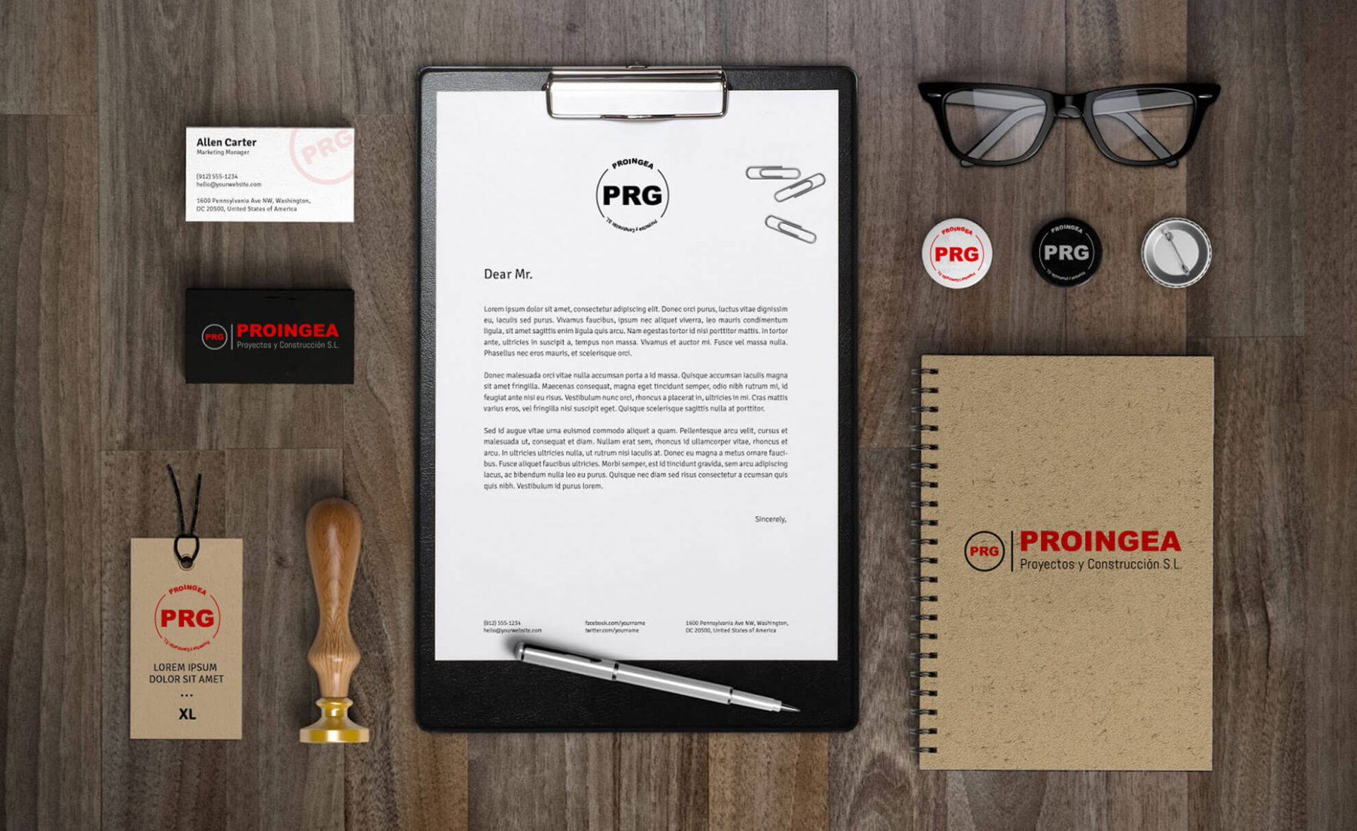 Merchandising portfolio diseño proingea