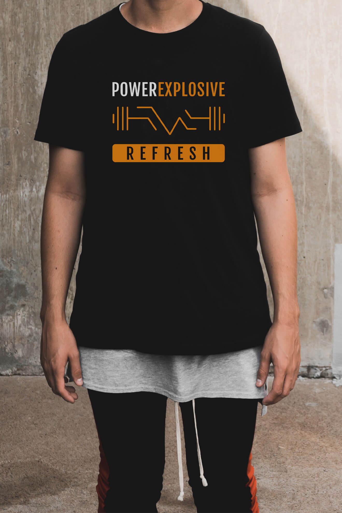 Prenda de vestir portfolio diseño powerexplosive refresh