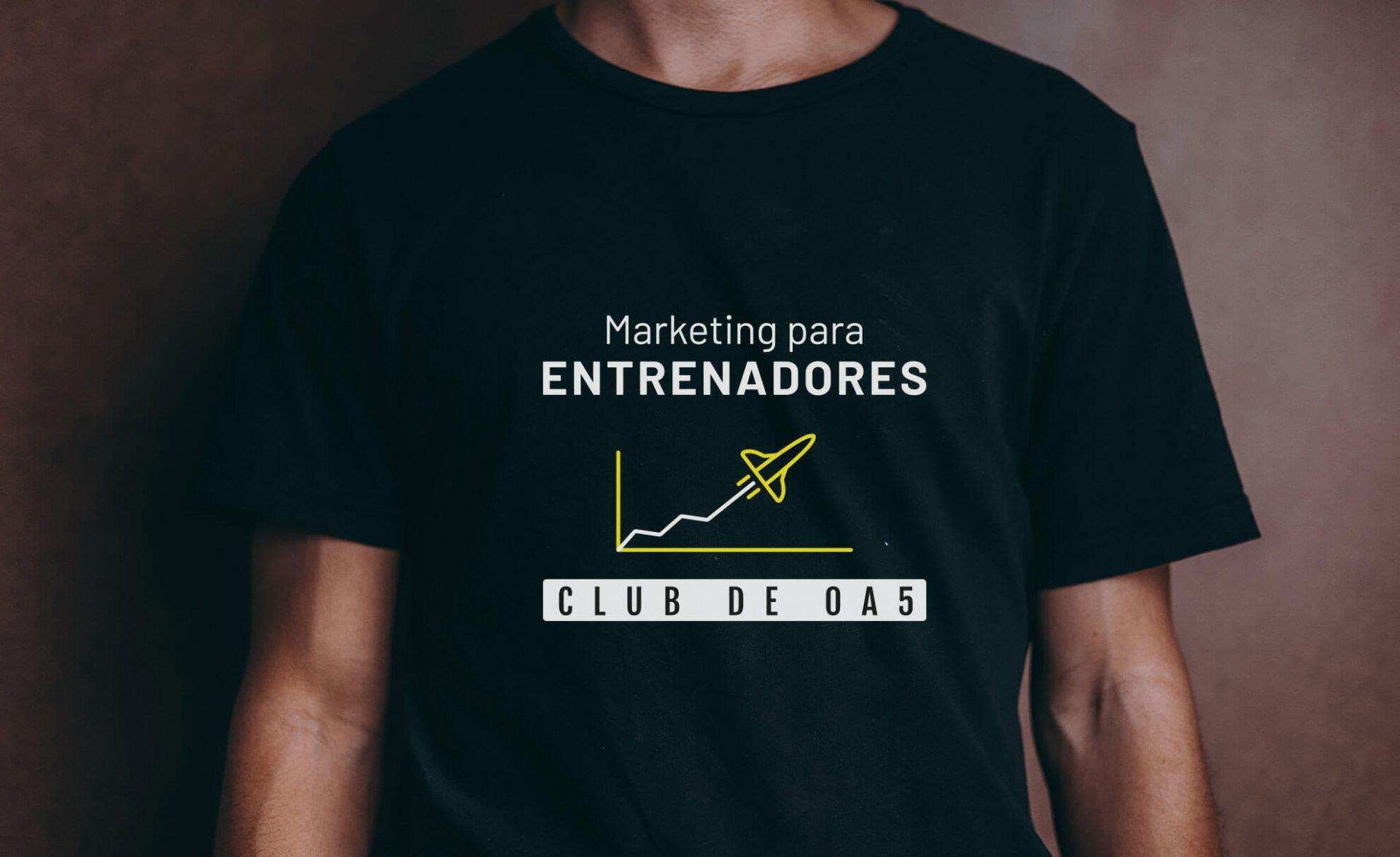 Prendas de vestir portfolio diseño marketing entrenadores